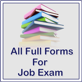 All Full Forms For Job Exam icon