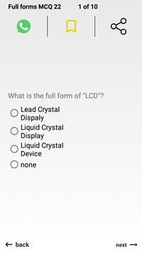 All Full Forms For Job Exam screenshot 5