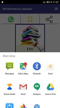 All Full Forms For Job Exam screenshot 3
