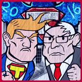 Trump v Bernie: Lawn of Office icon