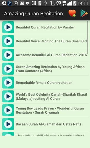 Amazing Quran Recitation for Android - APK Download