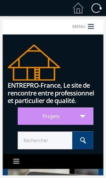 EntrePro France apk screenshot