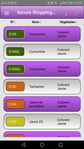 Pro Food Additives E Codes Free For Android Apk Download