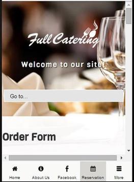 Full Catering apk screenshot