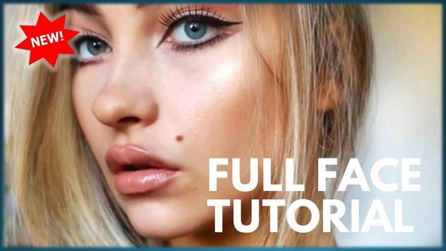 Full Face Makeup Tutorial screenshot 1
