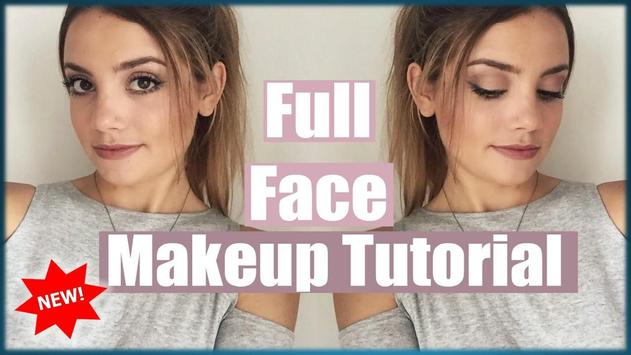 Full Face Makeup Tutorial screenshot 2