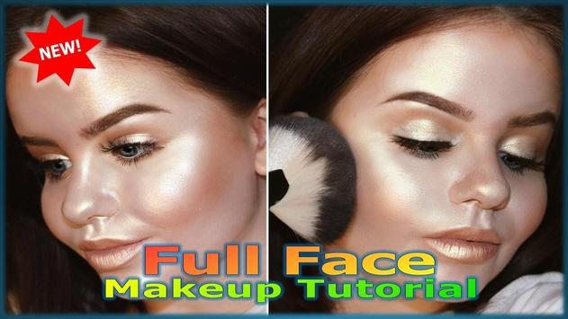 Full Face Makeup Tutorial screenshot 4