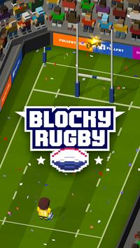 Blocky Rugby poster