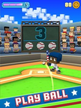 Blocky Baseball poster