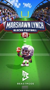 Marshawn Lynch Blocky Football APK
