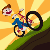 2D Hill Bicycle Climb Racing icon