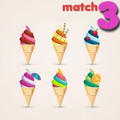 Ice Cream Crush - Match-3 Puzzle Free Adventure icon