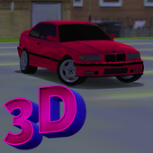3D Sports Car Driving In City icon