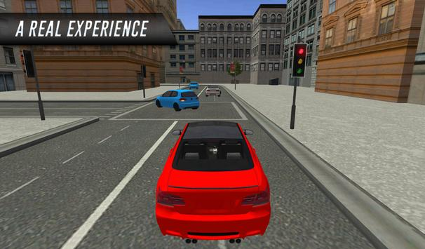 3D Sports Car Driving In City screenshot 1
