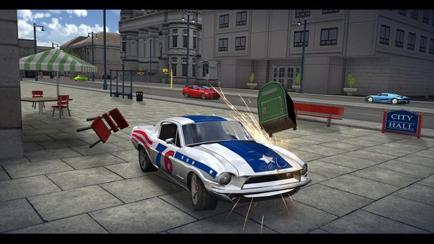 3D Sports Car Driving In City screenshot 5
