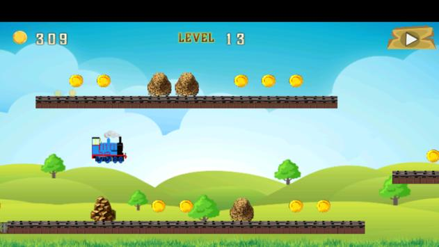 Fun Thomas Adventure Game 2017 apk screenshot