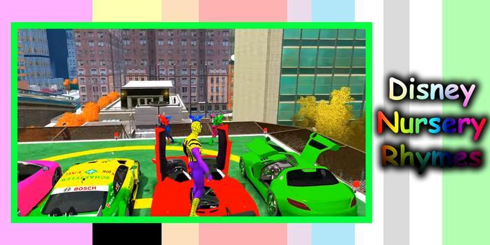 Superheros kids Nursery Rhymes apk screenshot