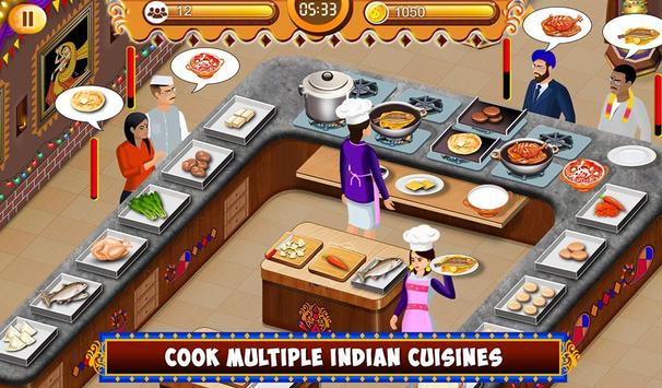 Indian Food Restaurant Kitchen Story Cooking Games for Android - APK ...