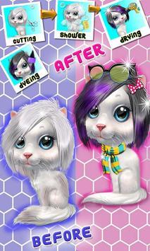Mascota cuidar animal mascota juegos salón belleza captura de pantalla 2