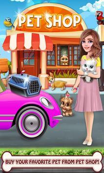 Mascota cuidar animal mascota juegos salón belleza captura de pantalla 3