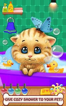 Mascota cuidar animal mascota juegos salón belleza captura de pantalla 5