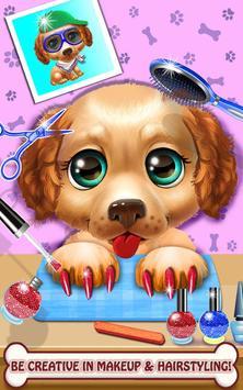 Mascota cuidar animal mascota juegos salón belleza captura de pantalla 6