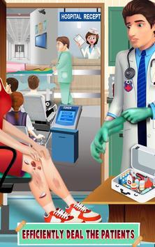 スポーツ傷病医師のゲーム ポスター
