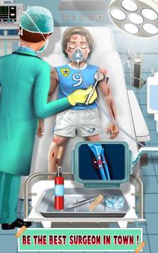 スポーツ傷病医師のゲーム スクリーンショット 1