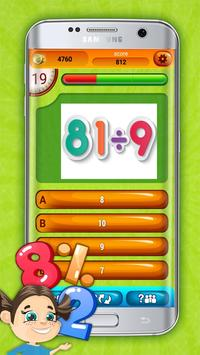 Fun Division Math Quiz Game screenshot 5