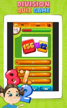 Fun Division Math Quiz Game screenshot 6