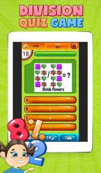 Fun Division Math Quiz Game screenshot 7