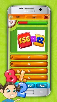 Fun Division Math Quiz Game screenshot 1