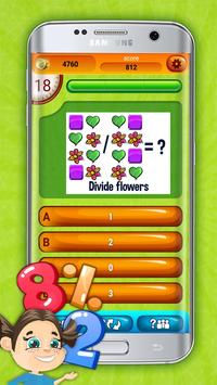 Fun Division Math Quiz Game screenshot 2