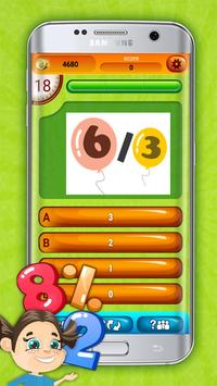 Fun Division Math Quiz Game screenshot 3