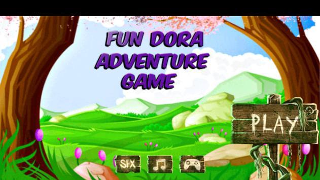 Fun Dora Adventure Game poster