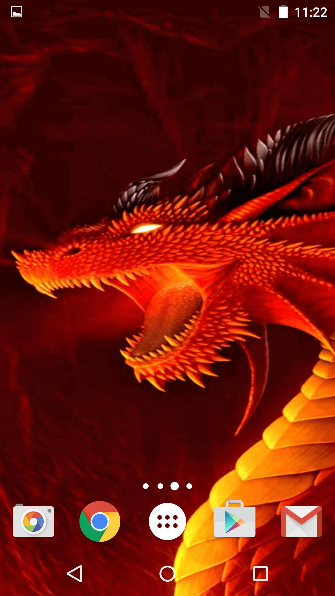 Dragon Live Wallpaper For Android APK Download