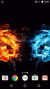 Fire and Ice Live Wallpaper screenshot 14