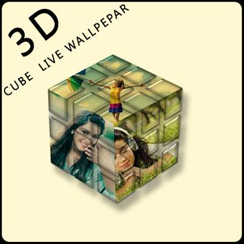 Photo Cube Live Wallpaper poster