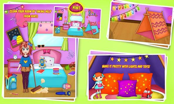 Girl House Cleaning Decoration: My Home Clean-up 1 1 (Android