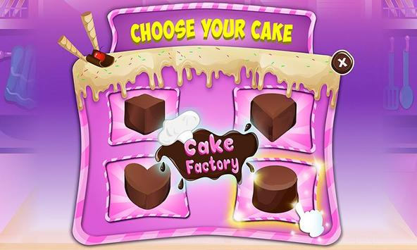 Chocolate Cake Factory: Cake Bakery Game poster