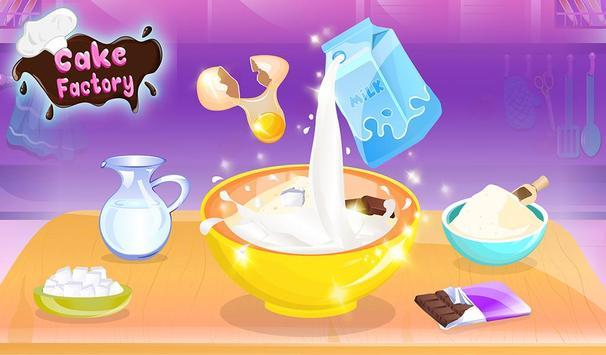 Chocolate Cake Factory: Cake Bakery Game screenshot 11
