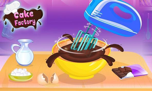 Chocolate Cake Factory: Cake Bakery Game screenshot 2