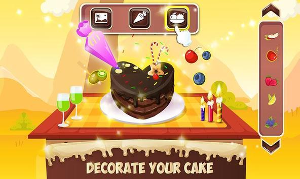 Chocolate Cake Factory: Cake Bakery Game screenshot 4