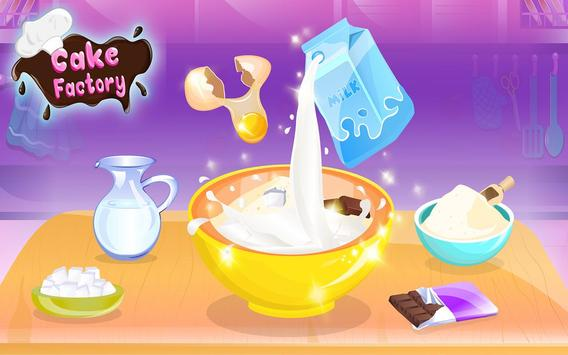 Chocolate Cake Factory: Cake Bakery Game screenshot 6