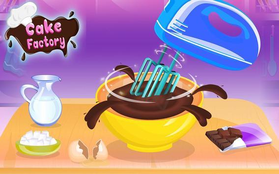 Chocolate Cake Factory: Cake Bakery Game screenshot 7