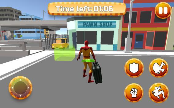 Spider Hero Dream City screenshot 2