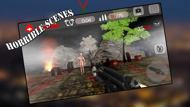 Zombie World Assault 3D screenshot 2