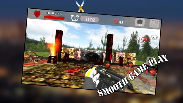 Zombie World Assault 3D screenshot 3