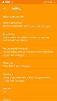 Ultra Fast Charger apk screenshot