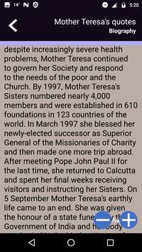 Mother Teresa's quotes screenshot 2